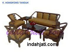 Kursi Tamu Hongkong Tanduk kursi tamu sofa citra jati jepara mpb 059 set 3211
