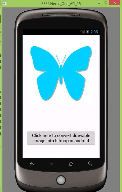 android bitmap convert drawable image into bitmap in android programmatically android exles