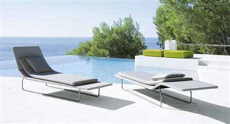 Outdoor Chaise Cover Surf Paola Lenti