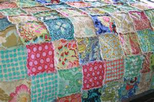 Toddler Bed Quilt Dimensions Rag Quilt Toddler Or Crib Size Bohemian By Justluved