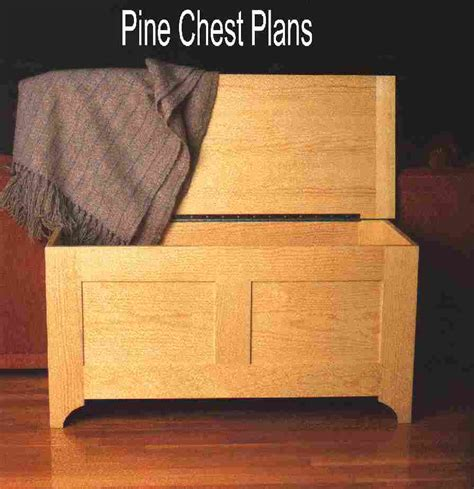 blanket chest plans   build diy woodworking