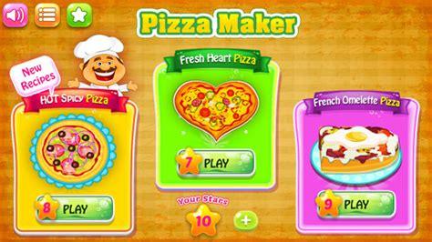 jueg de cocina pizzero juegos de cocina para android descargar gratis