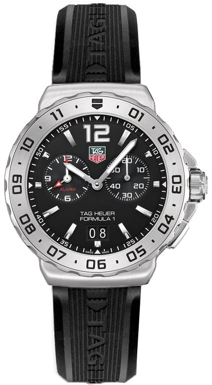 Swiss Army 1550 Rubber Black tag heuer wau111a ft6024 formula 1 alarm s