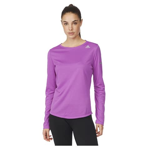 adidas womens sequencials climalite running long sleeve