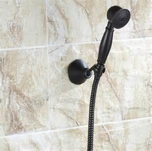 bathroom rubbed bronze spray spout faucet held
