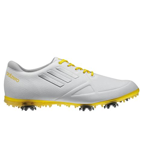 adizero golf shoes adidas adizero tour golf shoe white yellow