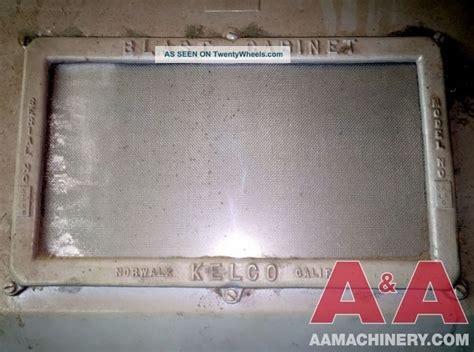 kelco blast cabinet manual kelco pressure blast cabinet 24283