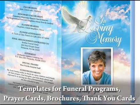make your own memorial cards free create beautiful funeral programs with funeral program