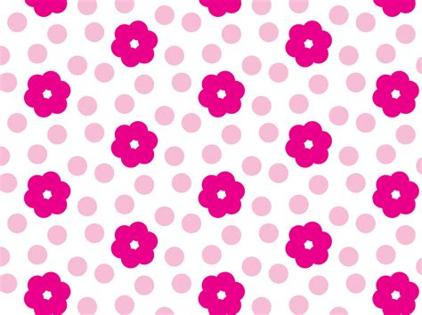 Pink Pattern Free Vector | pink flower pattern vector art graphics freevector com