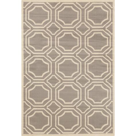 6 x 7 rug world rug gallery modern geometric gray 7 ft 6 in x 9 ft 5 in area rug 9103 gray 7 6 quot x 9 5