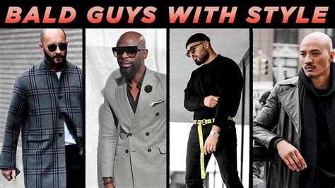 bald guys  great style bald mens fashion