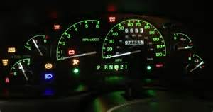 ford ranger instrument cluster lights autos post