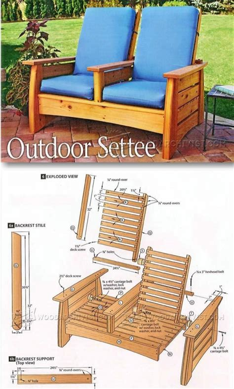 Outdoor Patio Furniture Plans Diy Outdoor Furniture Plans