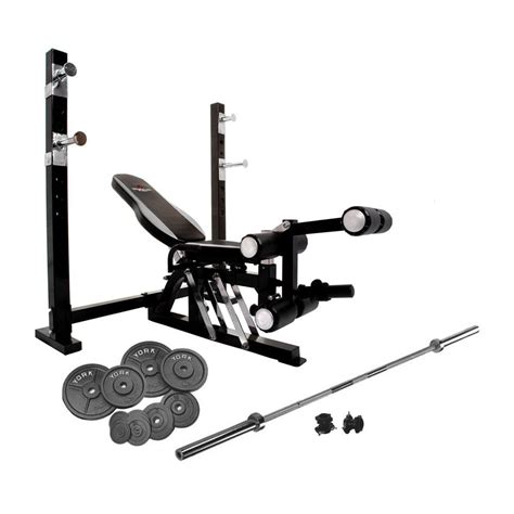 complete weight bench set bruce lee dragon olympic weight bench and 140kg cast iron barbell set sweatband com
