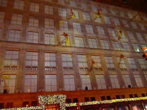 saks fifth avenue light show christmas light show at saks fifth avenue nyc lucky 2b here