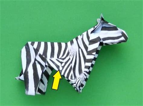 Zebra Origami - joost langeveld origami page