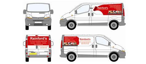 Design Vans Uk | van design rainford painters brightbulb design