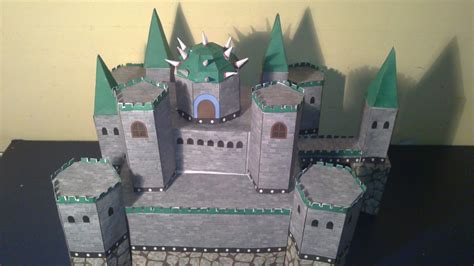 Castle Papercraft - bowser s castle papercraft by e 419 on deviantart