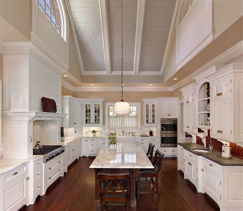 vaulted kitchen ceiling ideas some vaulted ceiling lighting ideas to your home