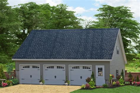 two story 3 car garages backed by 25 years experience