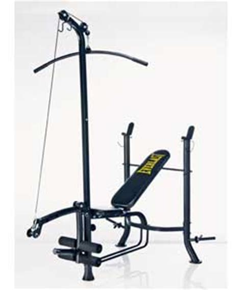 everlast bench press everlast ev330 bench lat and curl review compare prices