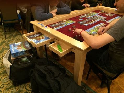 98 Best Gaming Tables Images On Pinterest Game Tables Rpg Gaming Table