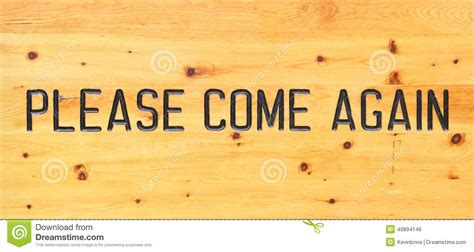 Came Again by Come Again Stock Photo Image Of Forestry Sinage