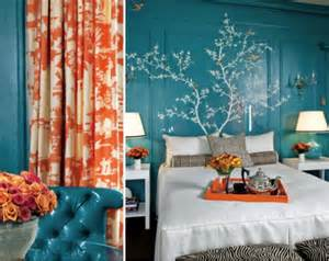 orange and teal bedroom ideas how to choose a complementing color palette for your home