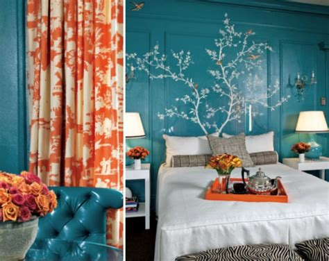 Turquoise And Orange Home Decor by How To Choose A Complementing Color Palette For Your Home Freshome