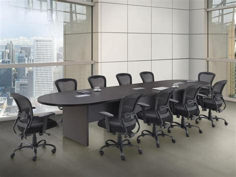 affordable 14 racetrack shaped conference table baystate