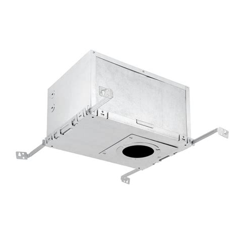 Recessed Lighting Insulated Ceiling Globe Electric 12 In Aluminum Recessed Housing Insulation Box 9212701 The Home Depot