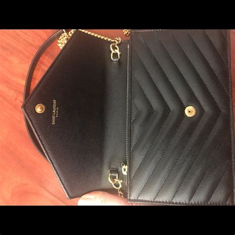 Yes Laurient Woc So Black 10 yves laurent handbags authentic ysl woc black with gold hardware from