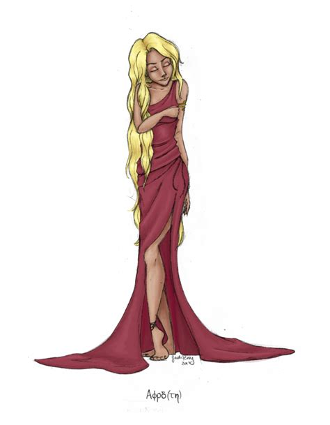 greek goddess aphrodite by jadeariel on deviantart