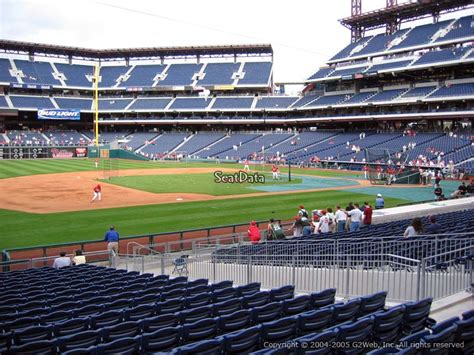 what is section 16 citizens bank park section 133 philadelphia phillies