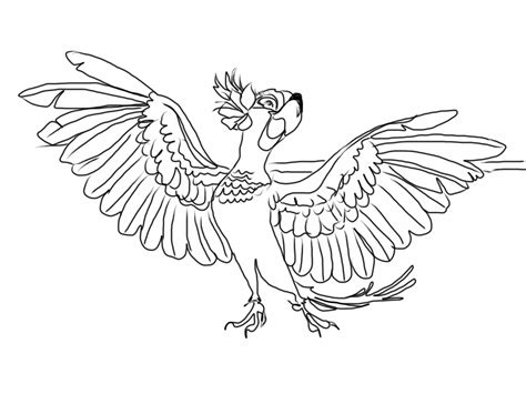 rio coloring book images
