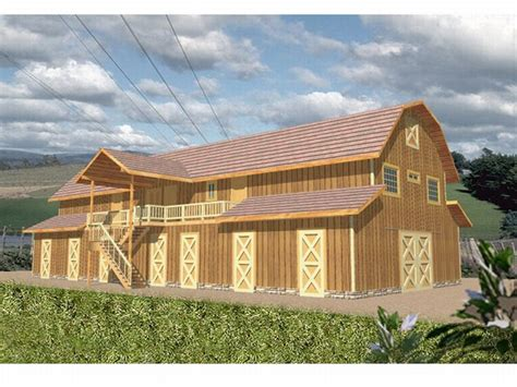 out building designs outbuilding plans 9 stall horse barn with living