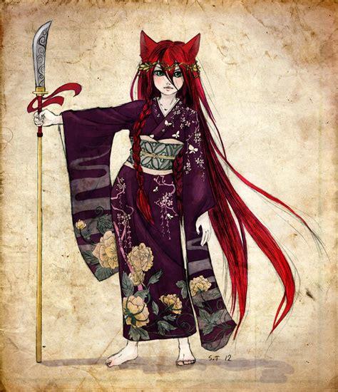 anime yokai fox yokai by nettosanne on deviantart