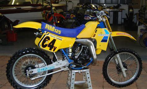 1984 Suzuki Rm250 1984 Suzuki Rm125 Sc Floater Suzuki Rm Vintage