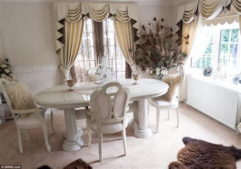 My big fat gypsy manor inside pimped up mobile home made of two caravans daily mail online