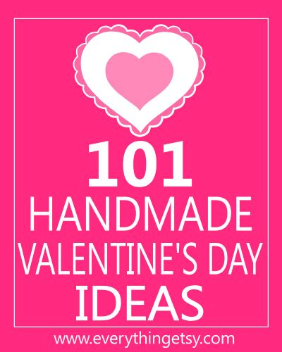 different things to do on valentines day 101 handmade s day ideas everythingetsy