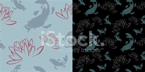 free lotus background pattern seamless koi lotus wallpaper pattern stock photos