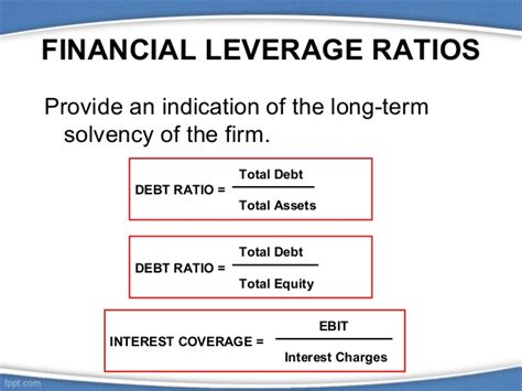 Credit Terms Formula Financial Ratios
