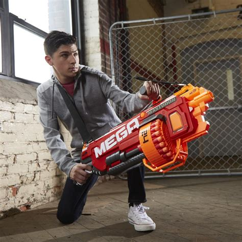 nerf car gun nerf n strike mega mastodon blaster amazon co uk toys