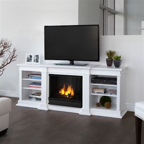 Gel Fireplace Tv Stand by Fresno 72 Quot Tv Stand With Gel Fireplace Modern
