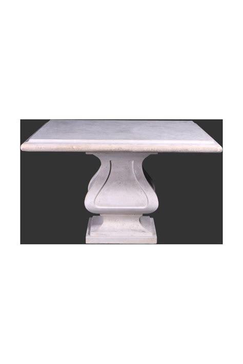 mesa piedra jardin mesa cuadrada jard 205 n en piedra oriente y occidente