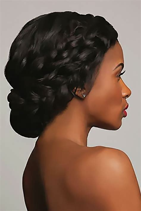 Wedding Hairstyles For Black Hair by 39 Black Wedding Hairstyles Black Medium