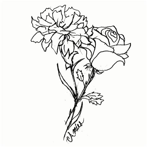 rose and carnation tattoo 25 beautiful carnation ideas on