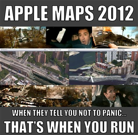 Apple Maps Meme - apple maps 2012 what john cusack has to say about it