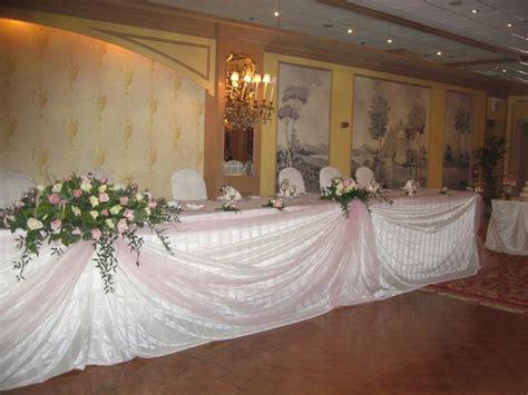 wedding head table view wedding decor head table decor best for bride