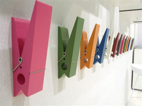 pin designer oversized clothes pin hangers by swabdesign